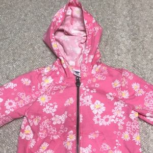 Old Navy, Infant, Floral Zip Up Hoodie